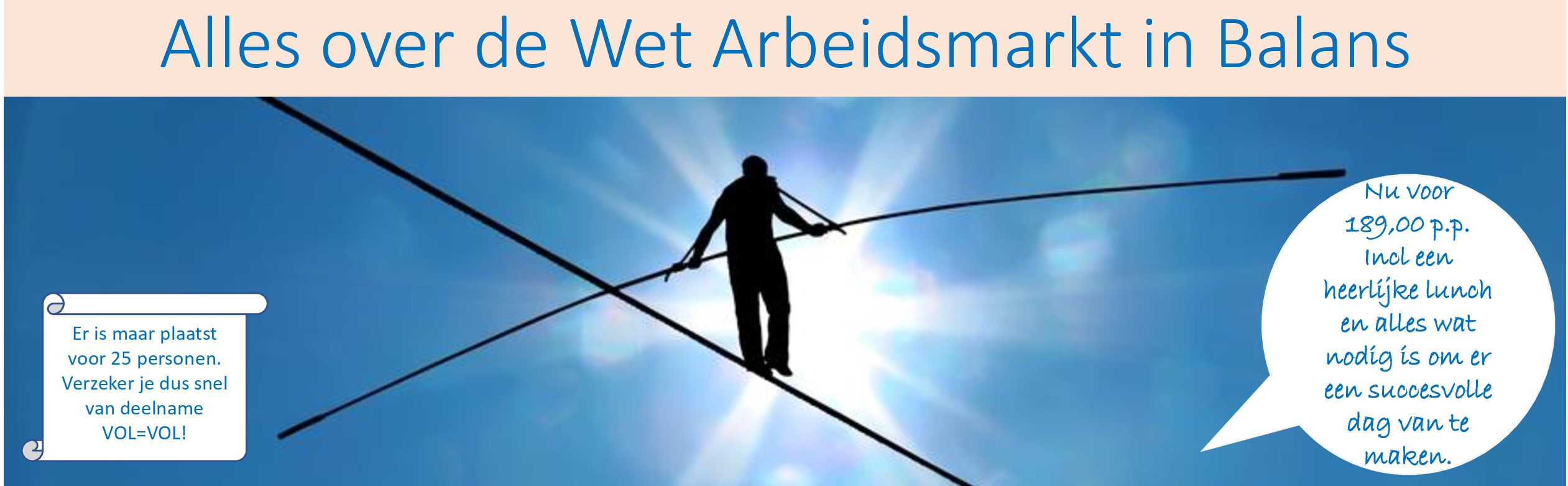 Alles over de Wet Arbeidsmarkt in Balans